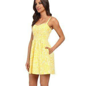Lilly Pulitzer Christine Sundress Sunglow Yellow 0